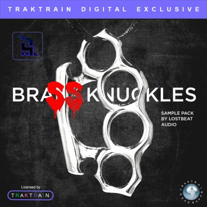 Cover for Brass Knuckles Sample Pack (85+ Loops) by Lostbeat Audio