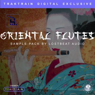 Cover for Oriental Flutes Sample Pack (180+ Samples) by Lostbeat Audio