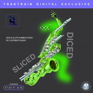 Cover for Sliced And Diced Sax & Flute Sample Pack by Lostbeat Audio